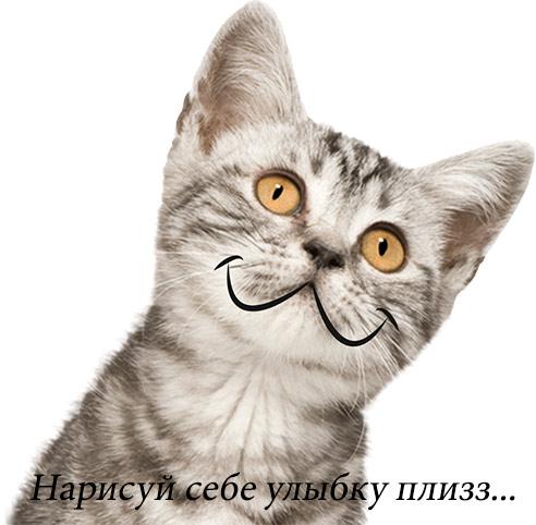 улыбку