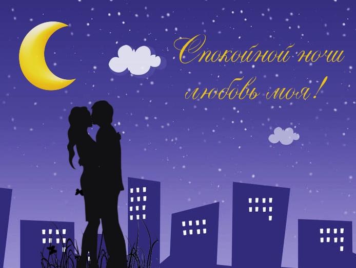 Спокойной ночи любовь моя…